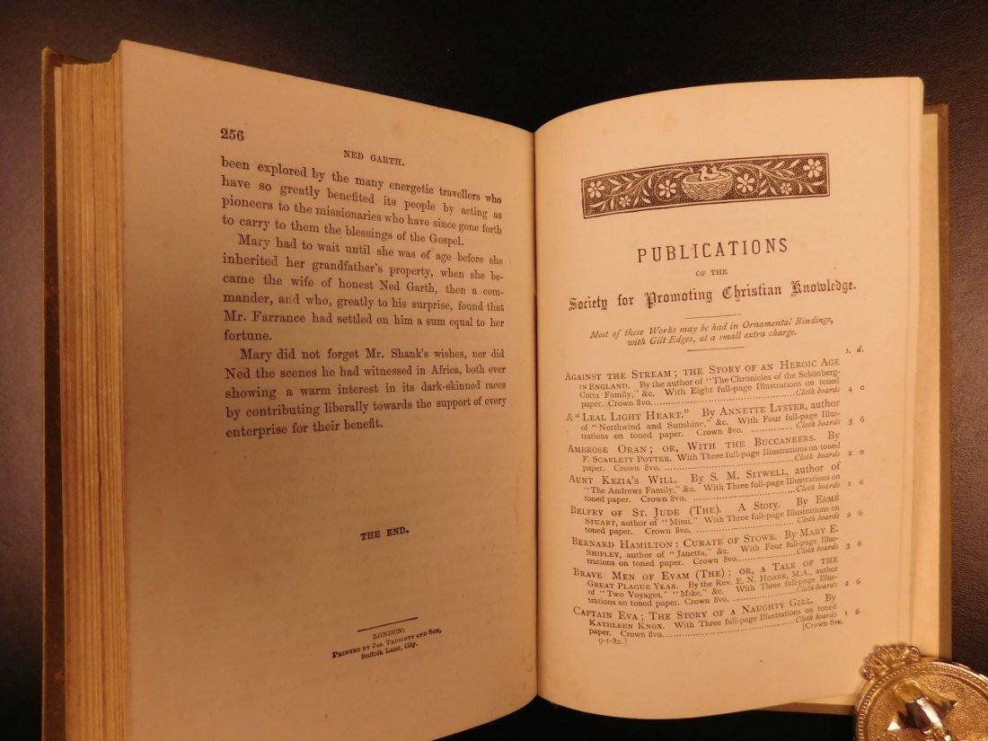 1885 1st ed Africa Slave Trade Ned Garth Prisoner - 9