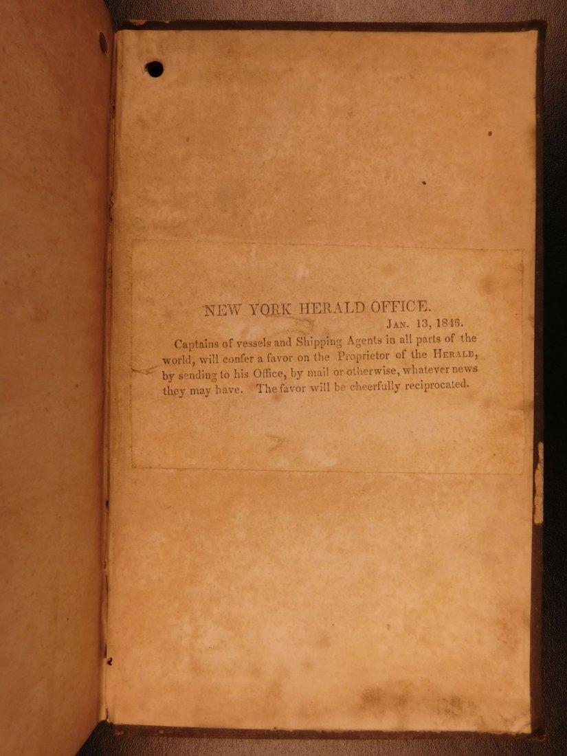 1845 NEW YORK Marine Laws Ships Wharfs Harbors Boats - 10
