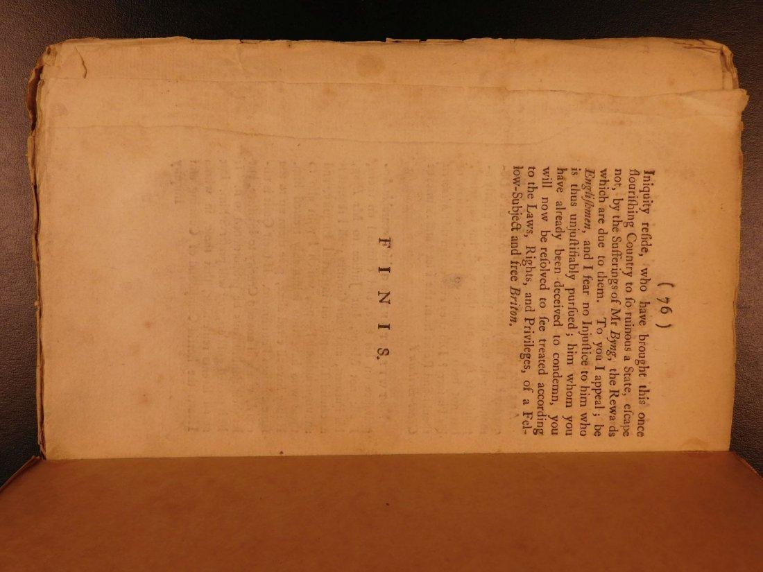 1756 1ed Seven Years' War Defense of Admiral Byng - 10