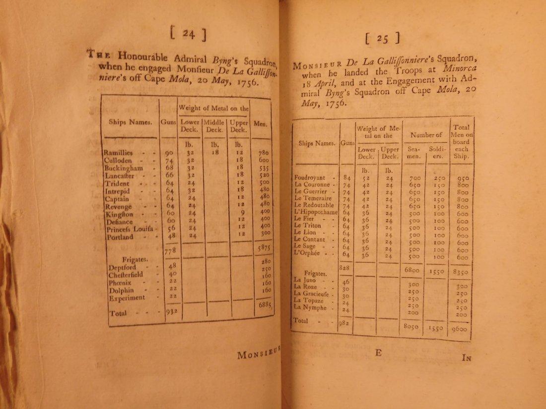1756 1ed Seven Years' War Defense of Admiral Byng - 4