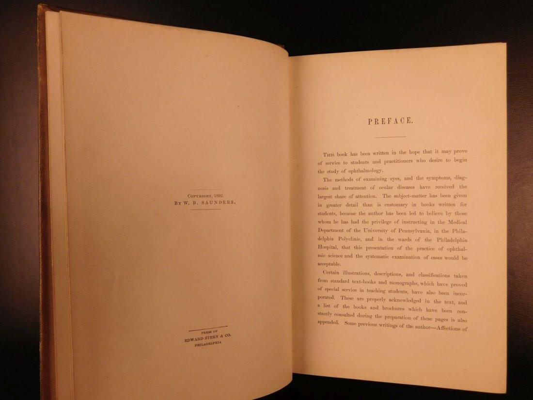 1892 1ed Diseases of Eye Ophthalmology Schweinitz - 3