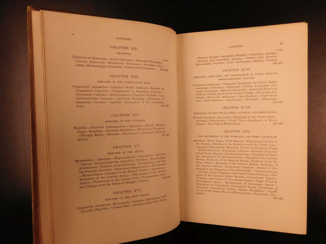 1892 1ed Diseases of Eye Ophthalmology Schweinitz - 4