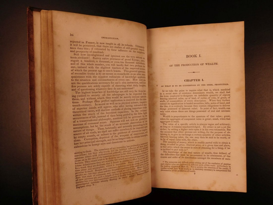 1832 Jean Baptiste SAY Economics Finance Supply Demand - 6