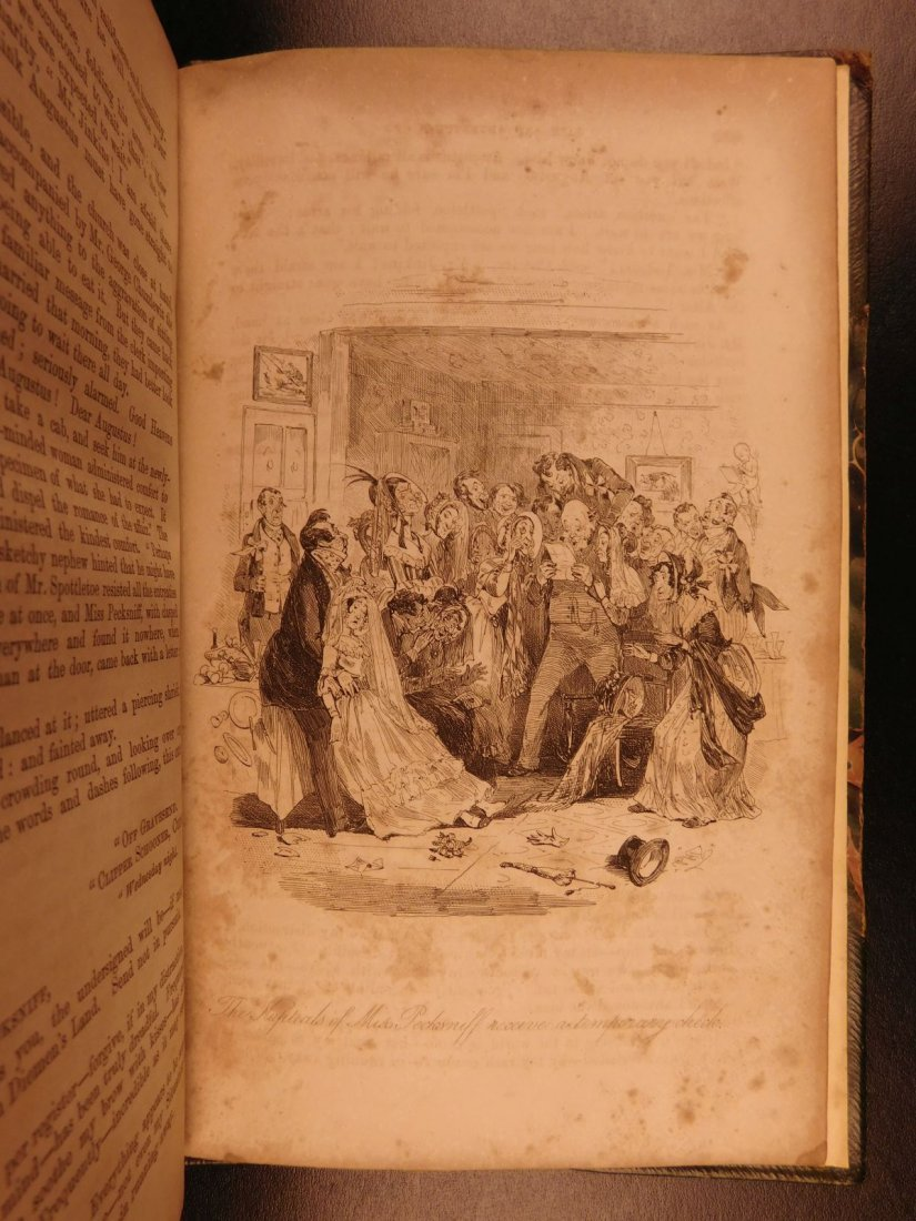 1844 1st ed Martin Chuzzlewit Charles Dickens English - 10