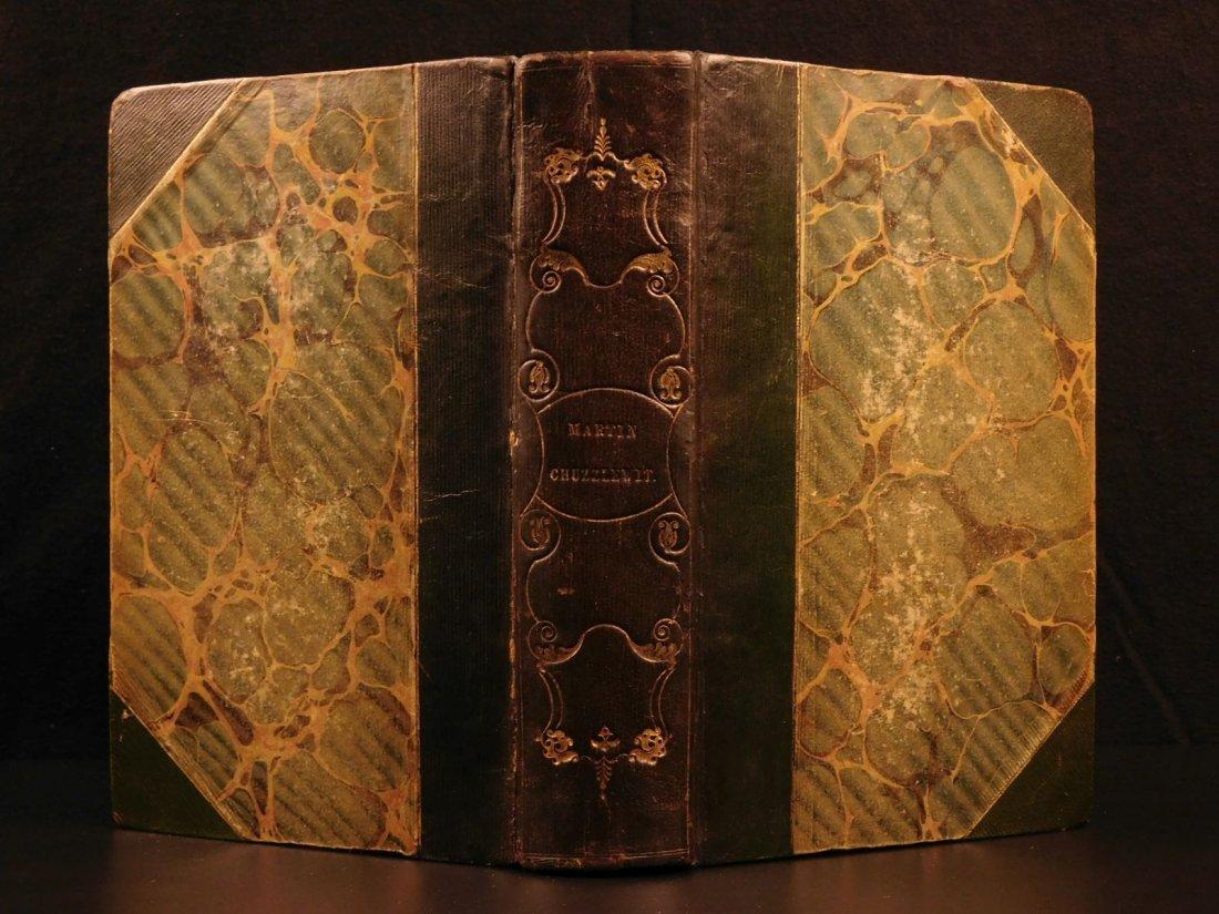 1844 1st ed Martin Chuzzlewit Charles Dickens English
