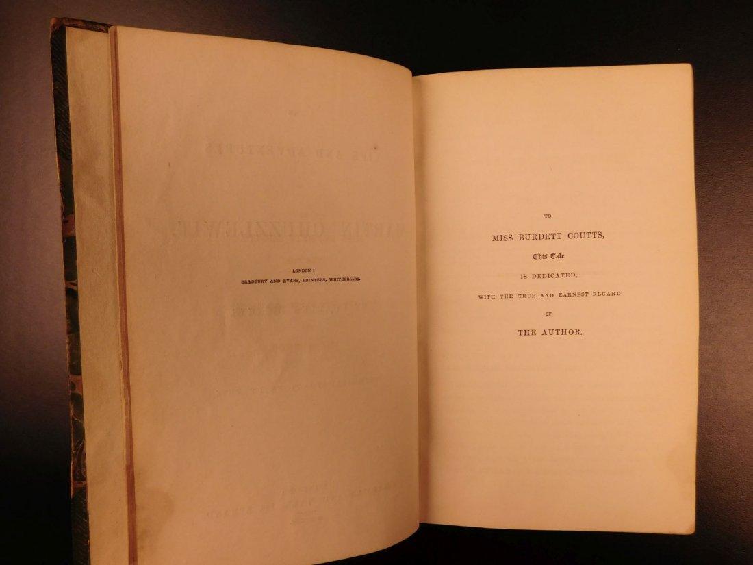 1844 1st ed Martin Chuzzlewit Charles Dickens English - 4