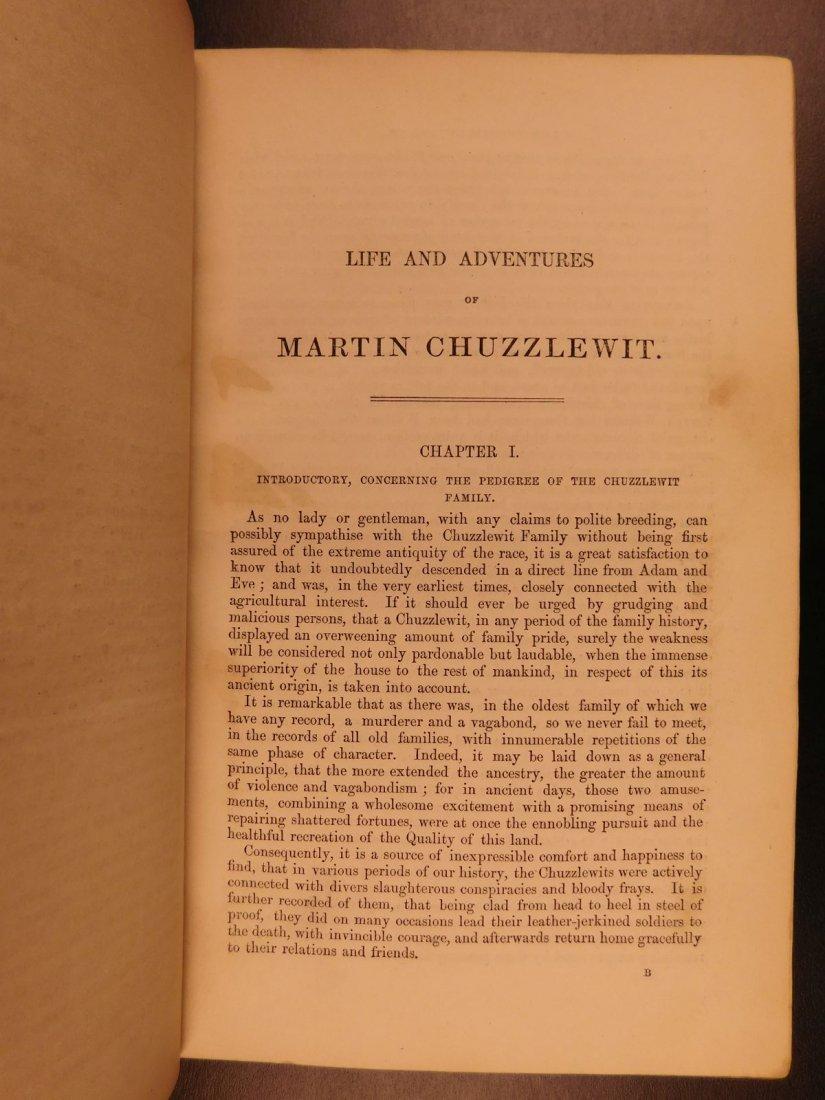 1844 1st ed Martin Chuzzlewit Charles Dickens English - 5