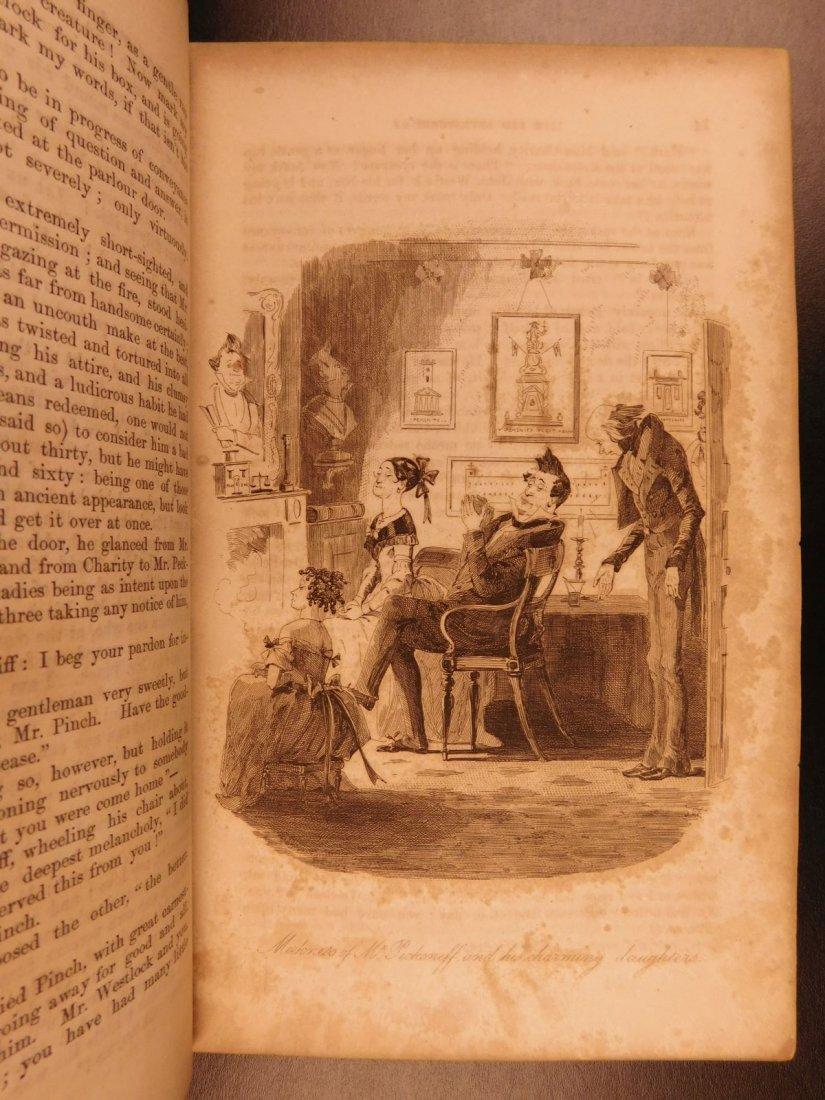 1844 1st ed Martin Chuzzlewit Charles Dickens English - 6