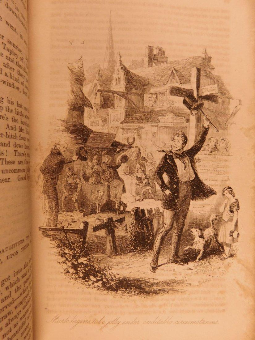 1844 1st ed Martin Chuzzlewit Charles Dickens English - 8