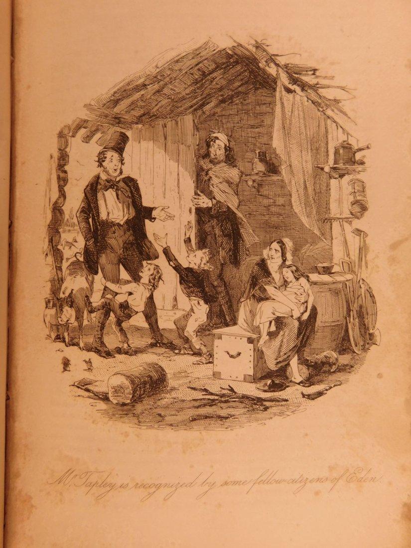 1844 1st ed Martin Chuzzlewit Charles Dickens English - 9