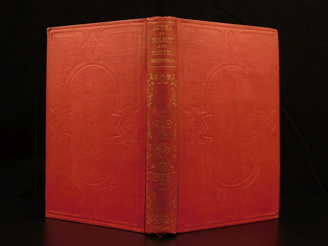 1852 Memoirs of George Washington Mother & Wife