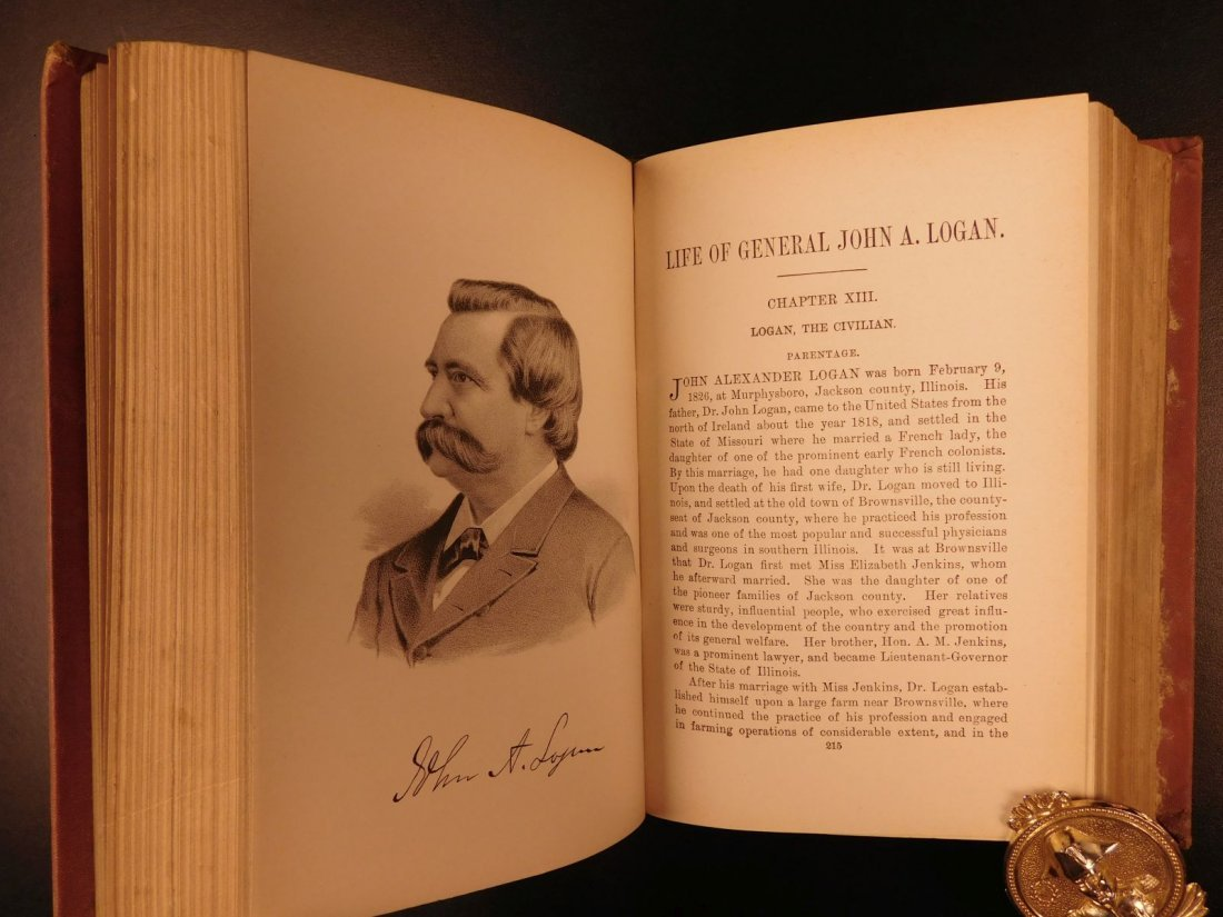 1884 REPUBLICAN Party History & Life of James G Blaine - 7