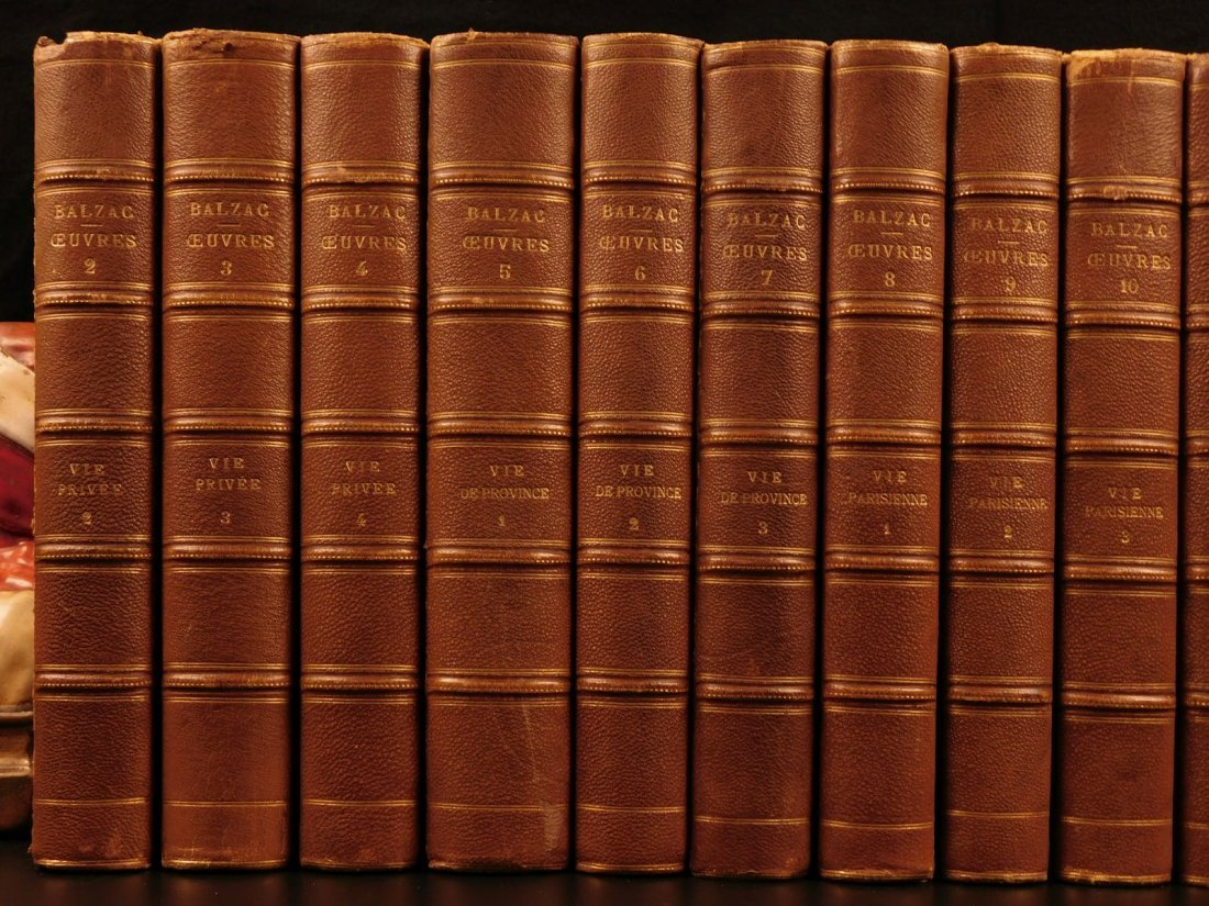 1875 Complete Works of Honore de Balzac French - 2