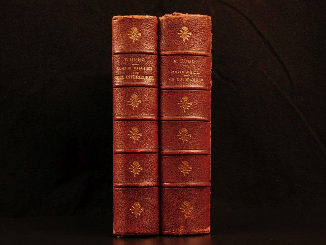 1880 Works of Victor HUGO Odes Ballads Interior Voice