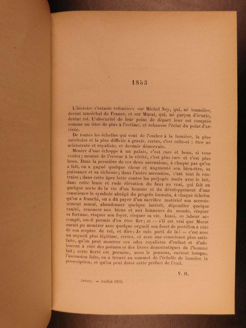 1880 Works of Victor HUGO Odes Ballads Interior Voice - 3