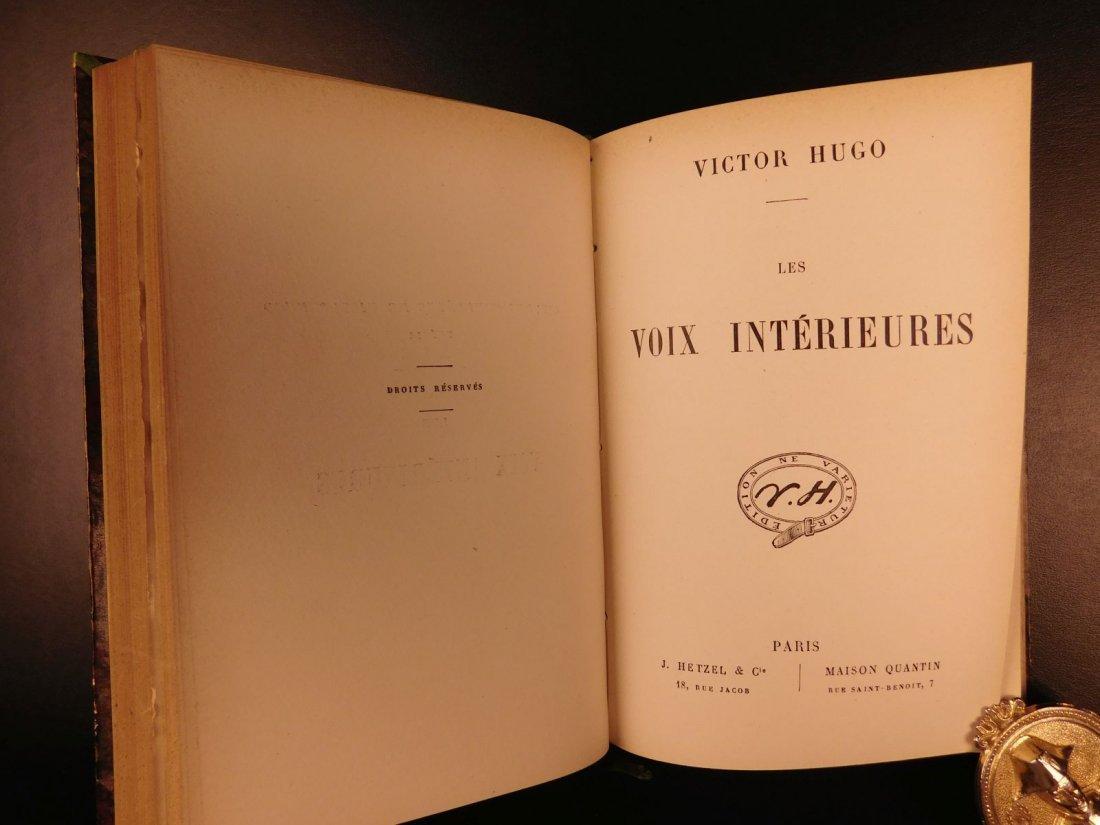 1880 Works of Victor HUGO Odes Ballads Interior Voice - 4