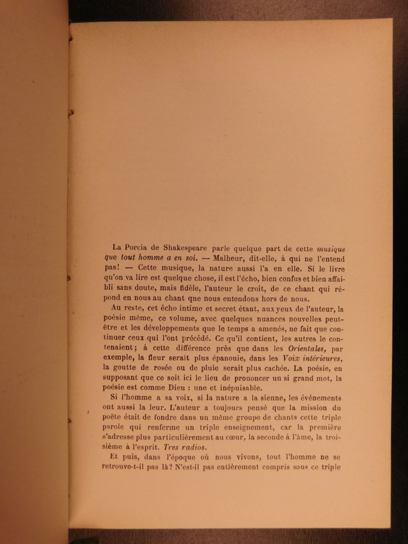 1880 Works of Victor HUGO Odes Ballads Interior Voice - 6