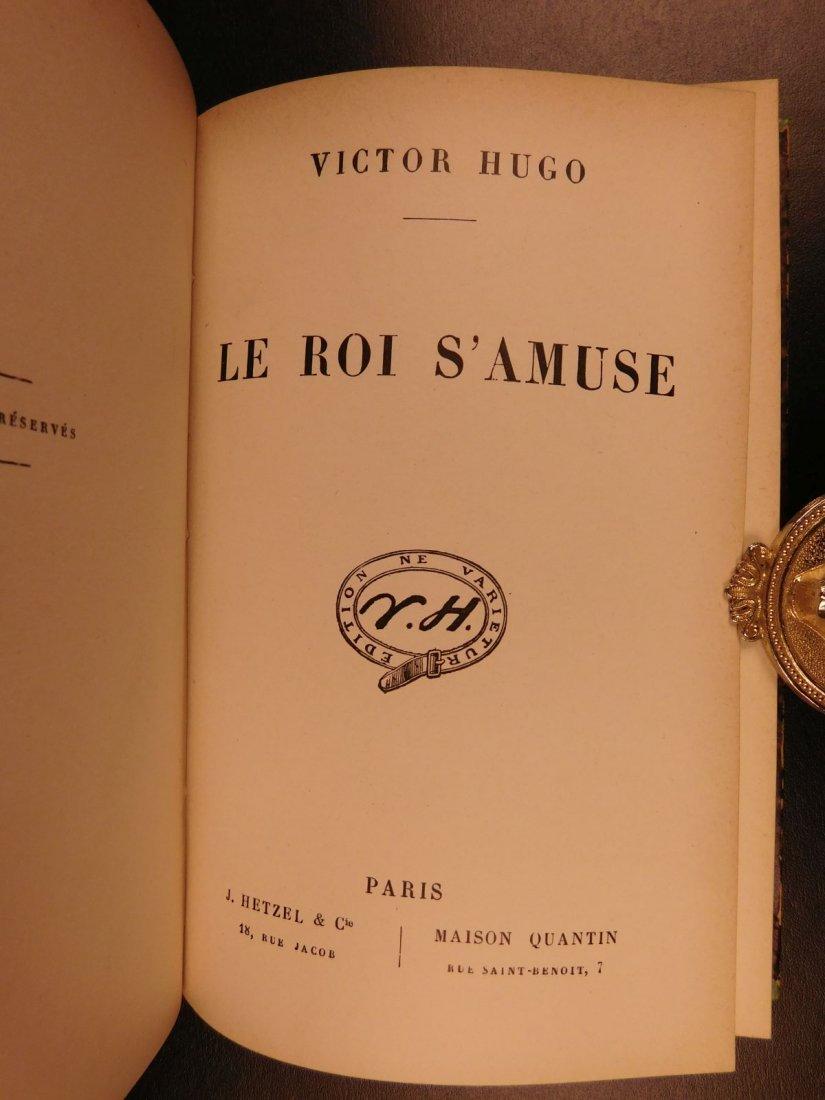 1880 Works of Victor HUGO Odes Ballads Interior Voice - 9
