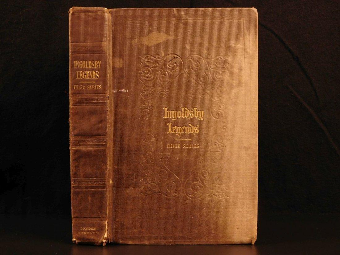 1847 Ingoldsby Legends Occult Ghosts Devils Cruikshank