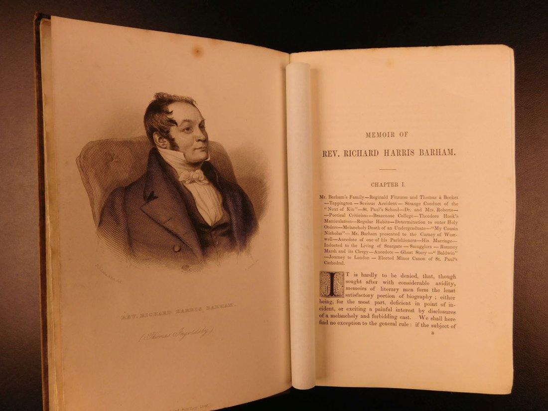 1847 Ingoldsby Legends Occult Ghosts Devils Cruikshank - 3