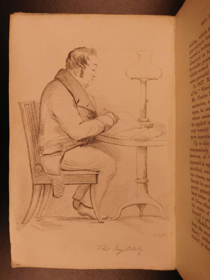 1847 Ingoldsby Legends Occult Ghosts Devils Cruikshank - 4