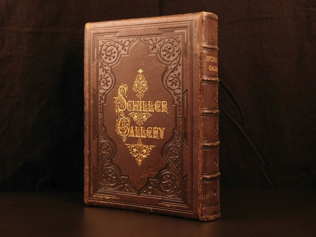 1869 Schiller Gallery Friedrich Pecht ART Illustrated