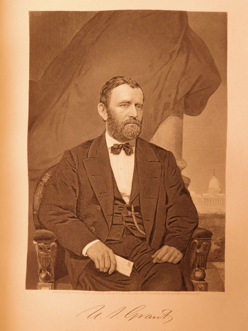 1861 1ed Portrait Gallery Illustrated Lincoln Grant - 10