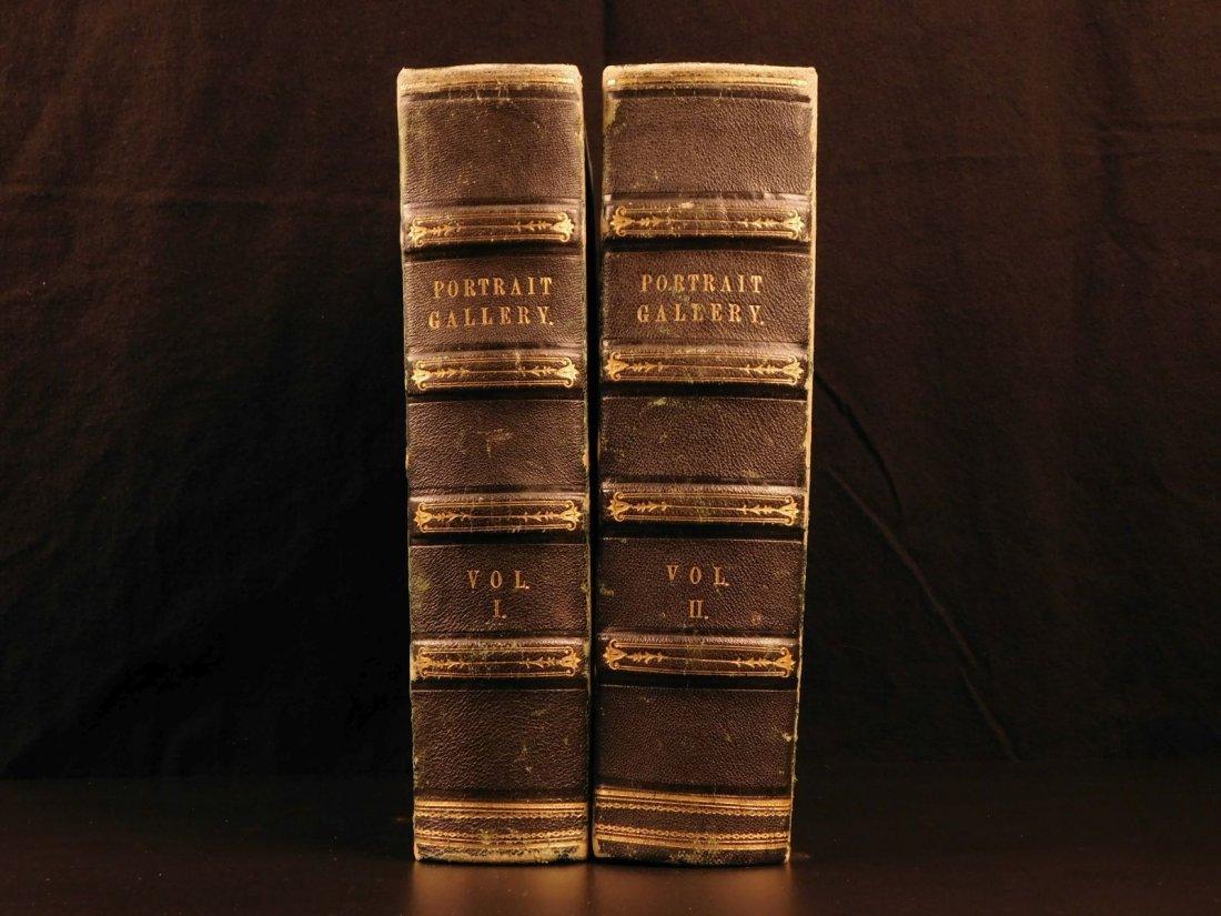 1861 1ed Portrait Gallery Illustrated Lincoln Grant