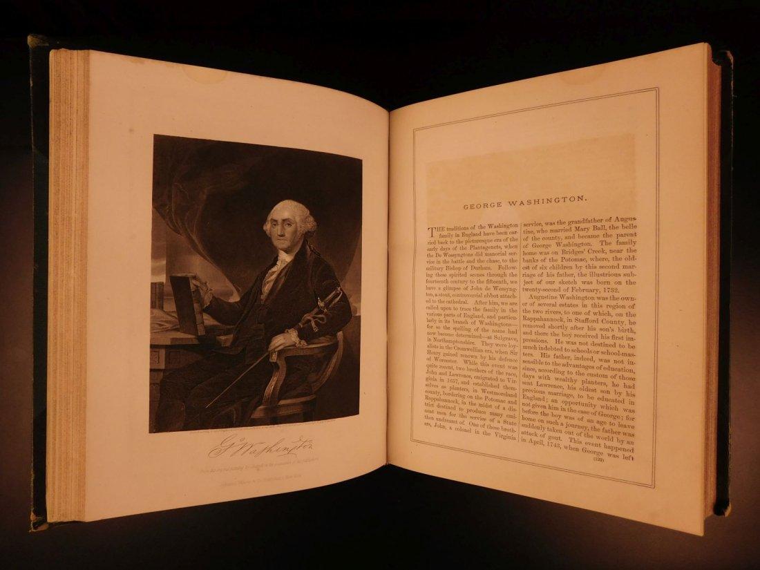 1861 1ed Portrait Gallery Illustrated Lincoln Grant - 5