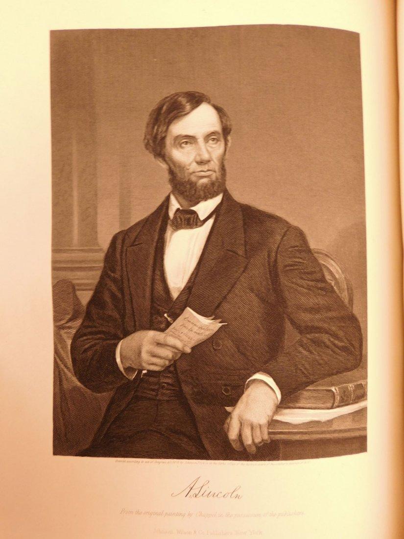 1861 1ed Portrait Gallery Illustrated Lincoln Grant - 9