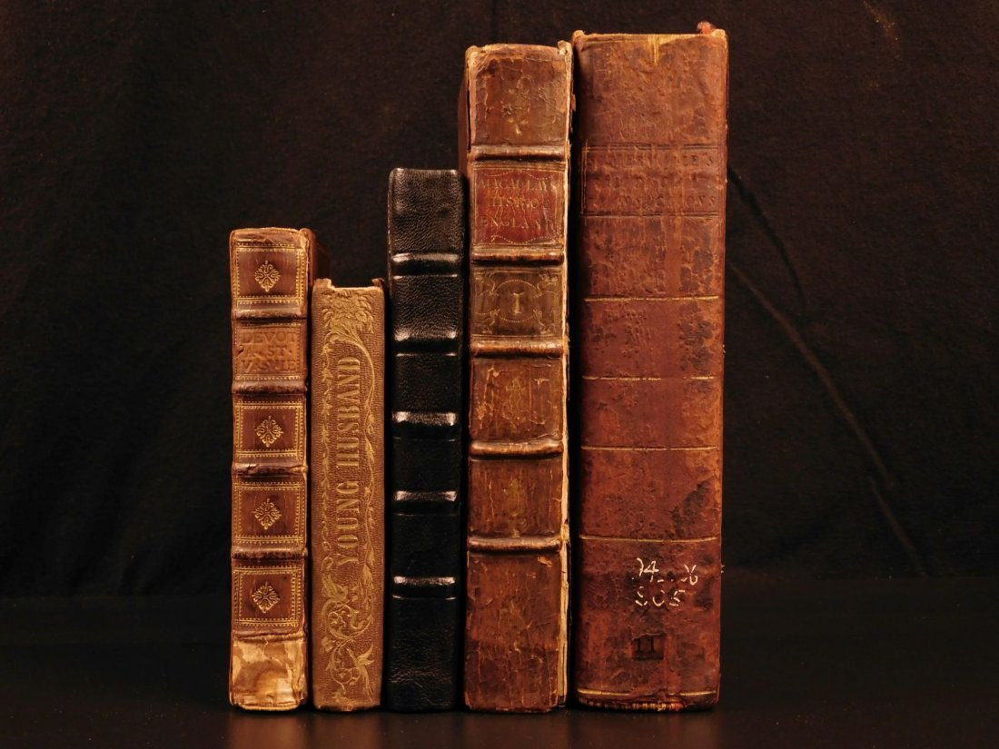 1691 5 Rare Books Macaulay History of England