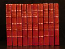1890 Victor HUGO EXQUISITE Leather BINDING French