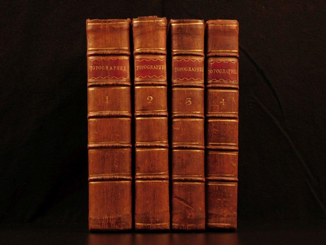 1789 1st ed Topographer Illustrated English Landscapes