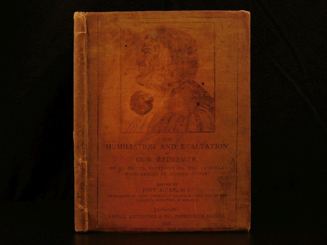 1856 1ed Albrecht Durer Prints Humiliation of Christ