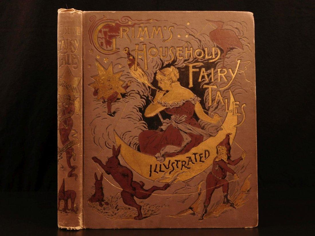 1890 Grimm's Household Fairy Tales Fantasy Cinderella