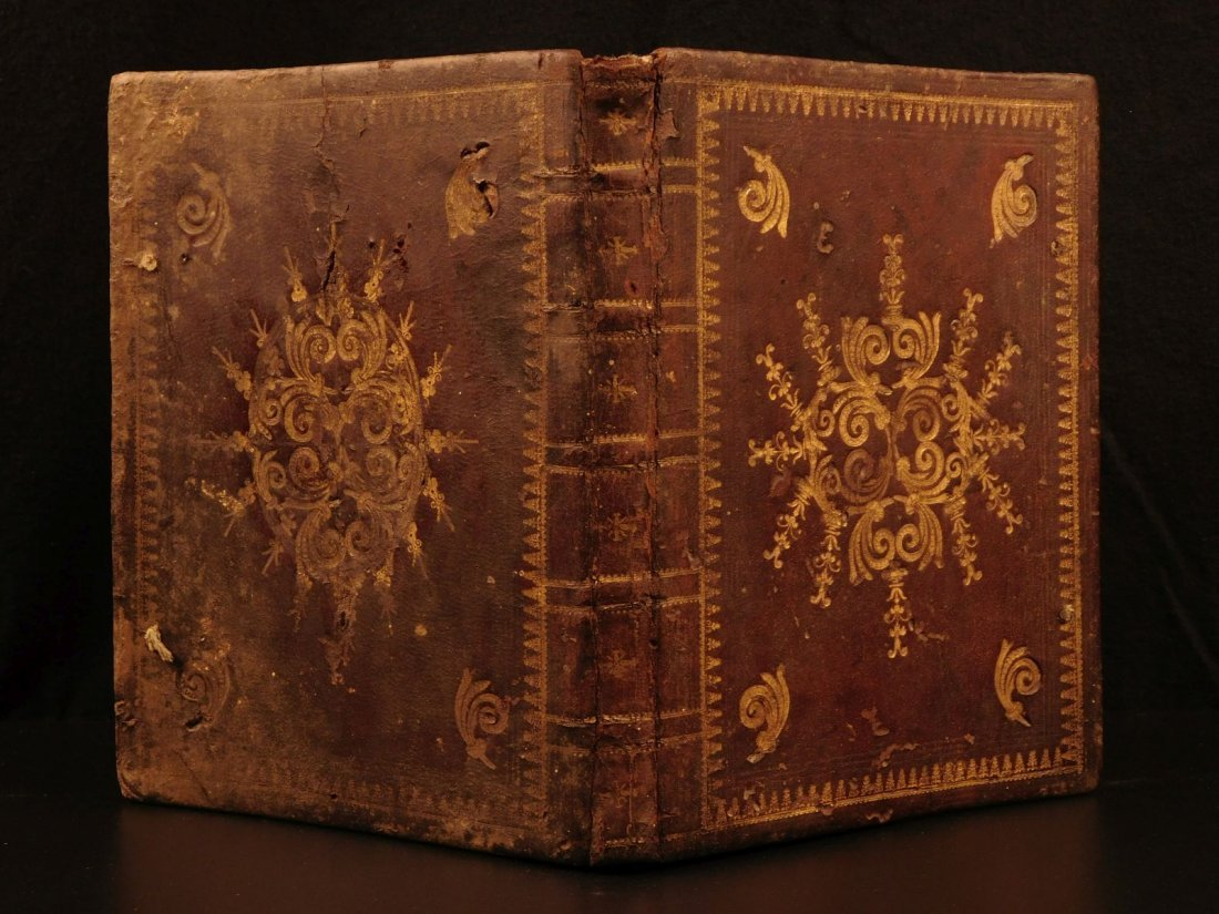 1650 Hartmann Creide German Augsburg BIBLE Lutheran