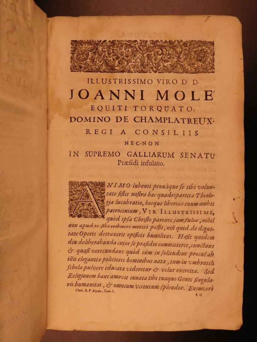 1678 Boyvin Theologia SCOTI Philosophy Metaphysics - 3