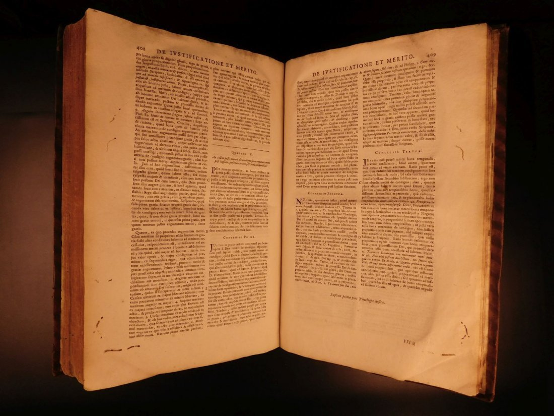 1678 Boyvin Theologia SCOTI Philosophy Metaphysics - 8
