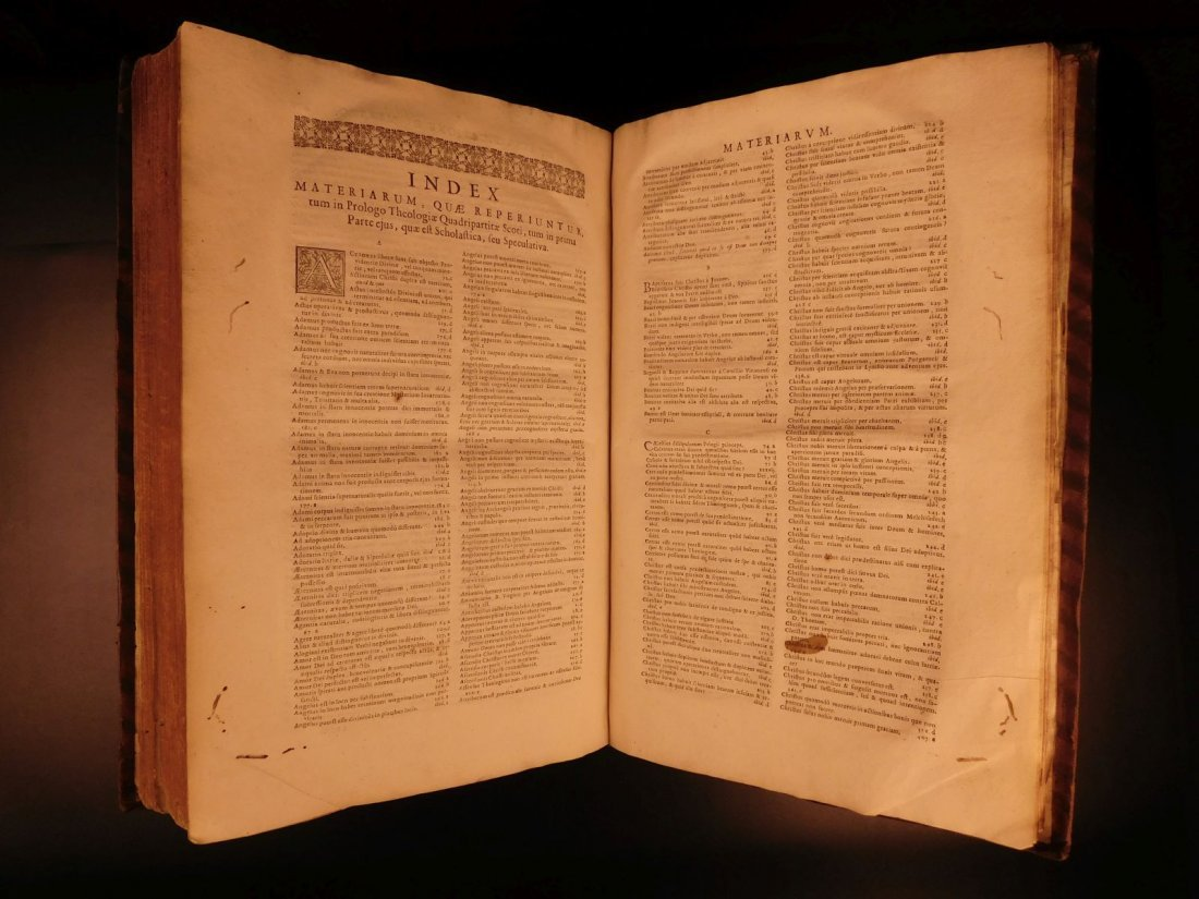 1678 Boyvin Theologia SCOTI Philosophy Metaphysics - 9