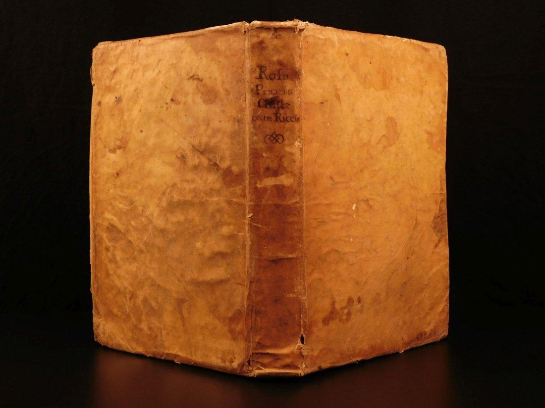 1719 1st ed Carlo Antonio de Rosa Civilis Decretorum