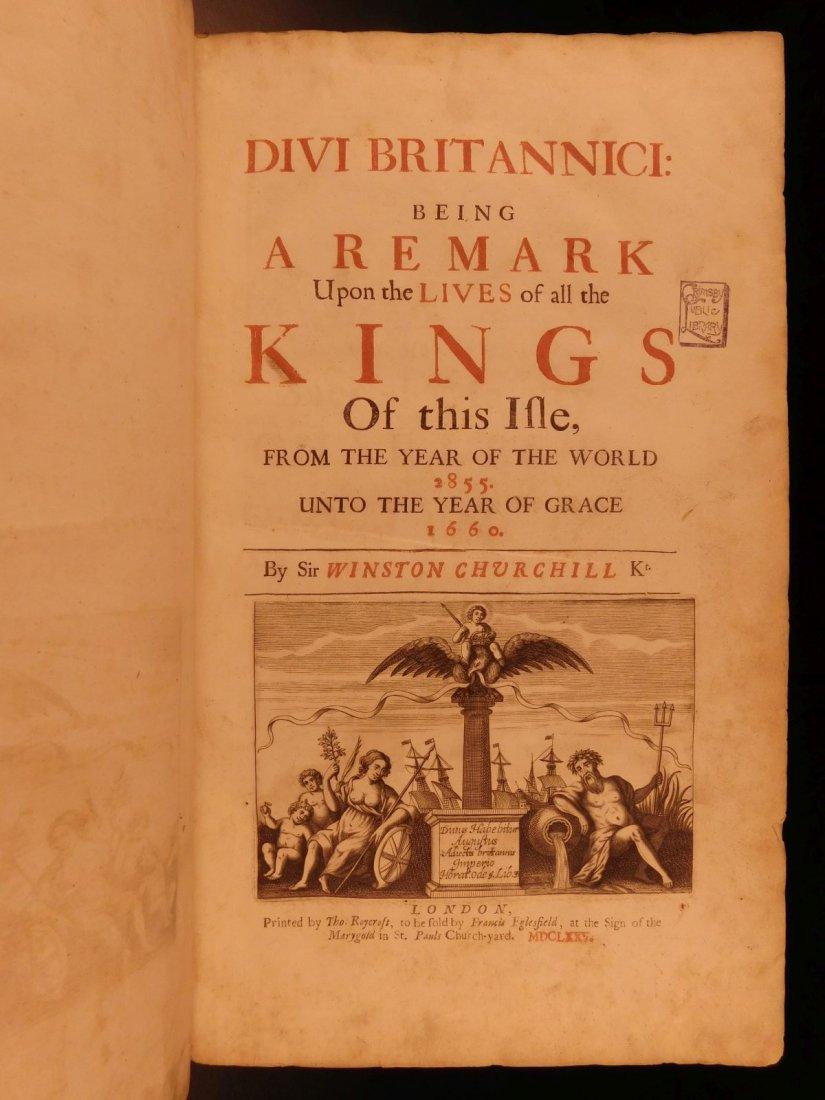1675 Divi Britannici Winston Churchill England King - 3