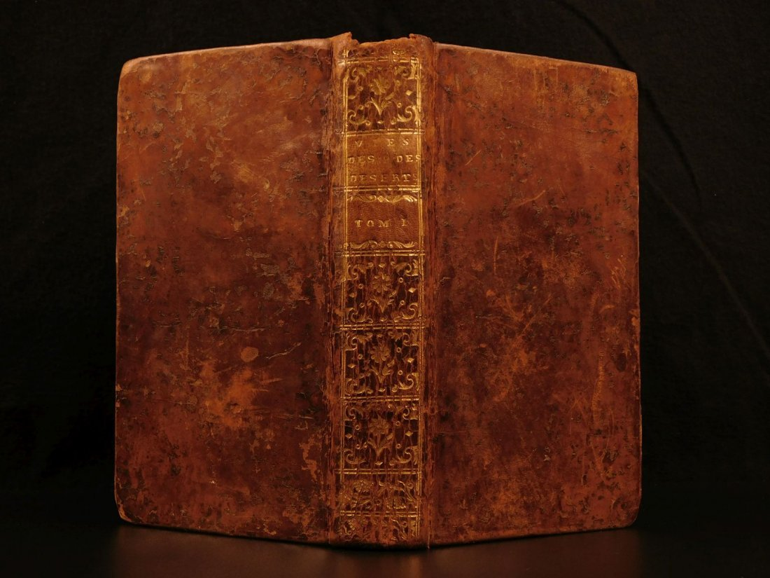 1757 1ed Lives of Holy Fathers Desert Saints Monastics