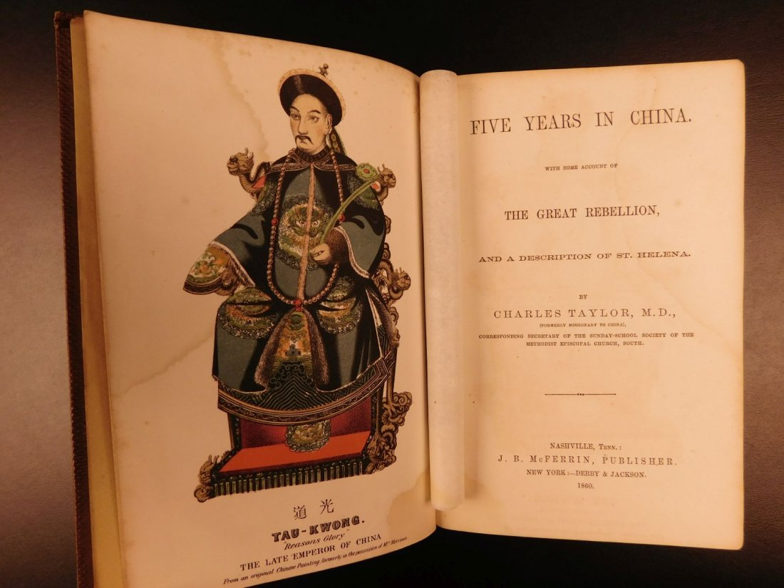 1860 Five Years in CHINA Customs Chinese New Year - 2