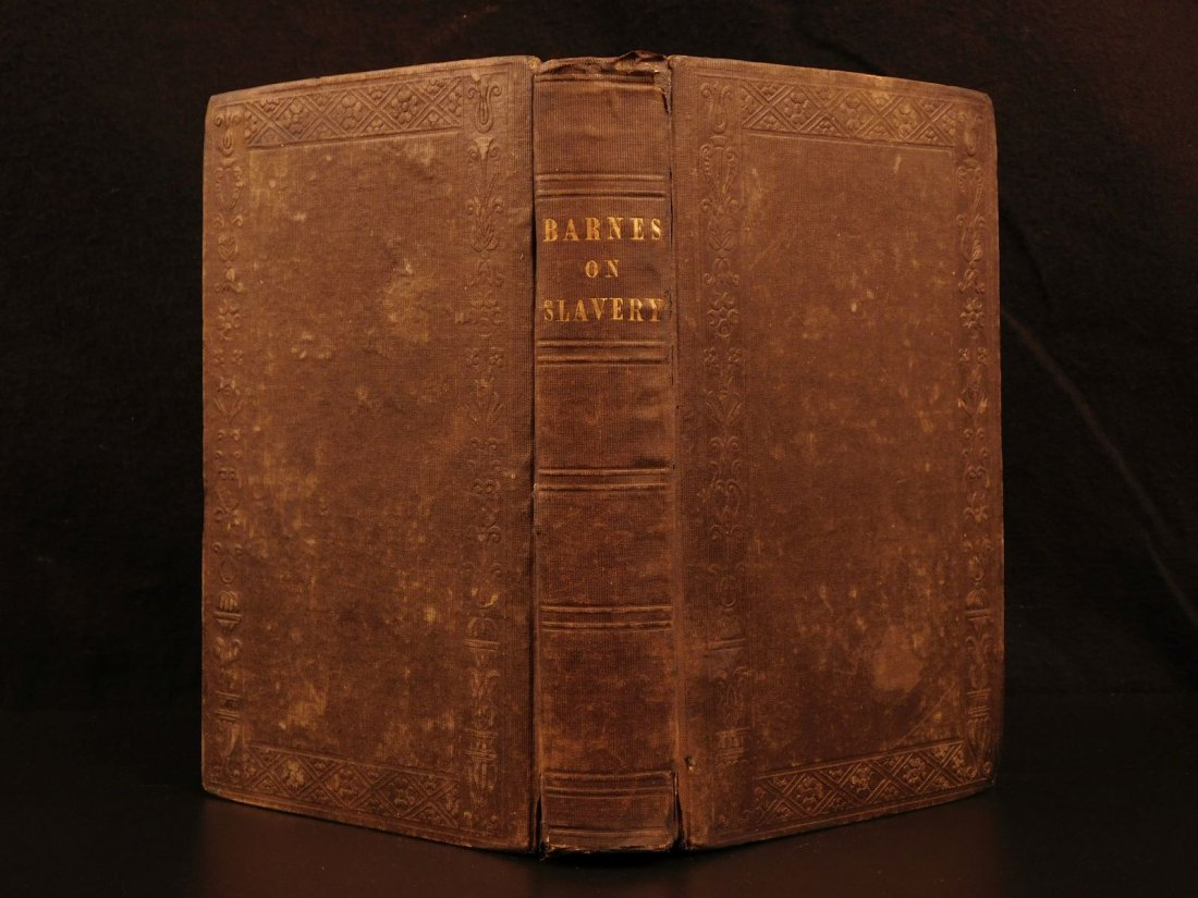 1846 1st Scriptural Views of Slavery Abolition Albert
