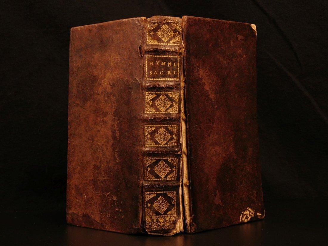 1698 Hymni Sacri et Novi Catholic Hymns Music Chant