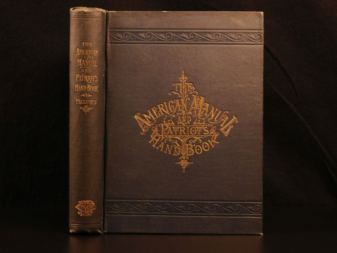 1889 American Patriot's Handbook Civil War History US