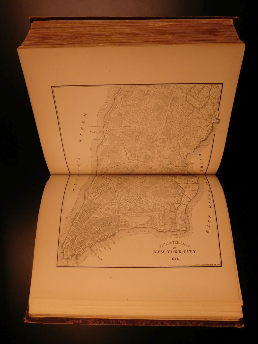 1877 NEW YORK History Illustrated MAPS Steamboats US - 10