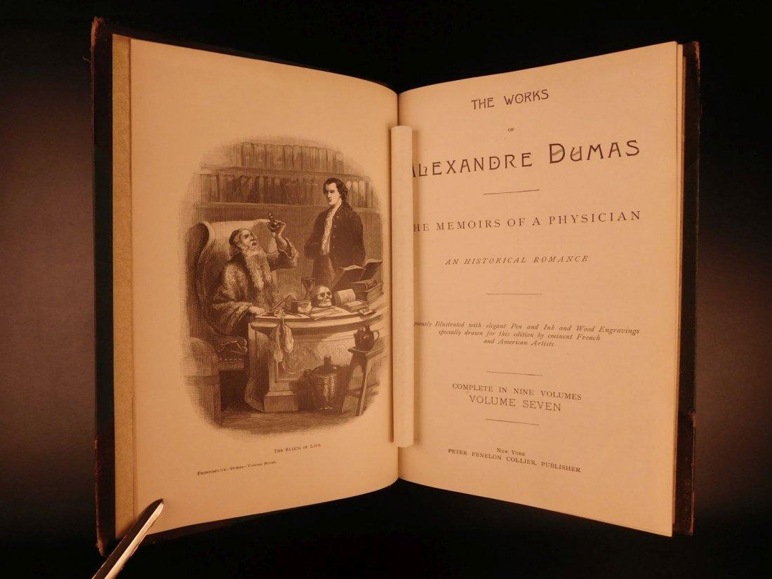 1895 Complete Works of Alexandre Dumas - 10