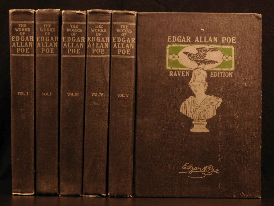1903 Complete Works Edgar Allan POE Poems Bells Raven