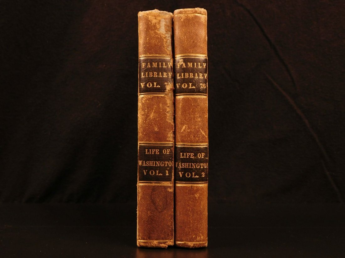 1839 Life of George Washington Americana President